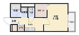 ルピナスB棟[2階]の間取り