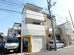 兵庫県神戸市灘区烏帽子町3丁目の賃貸マンションの外観