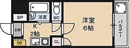 クレイン新大阪[7階]の間取り