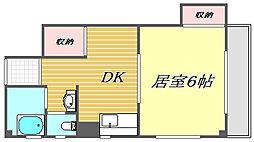 ハイム宇田川[2階]の間取り