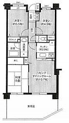 KS桜川[1階]の間取り