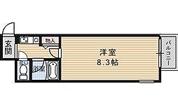 ルシエール四ノ宮[201号室号室]の間取り