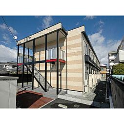 レオパレスメルベーユ昭和II[1階]の外観