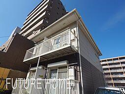 兵庫県神戸市東灘区甲南町2丁目の賃貸アパートの外観