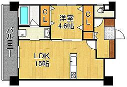 KSK門司コアプレイス[2階]の間取り