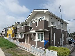 愛知県岡崎市大和町字川原の賃貸アパートの外観