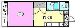 シェレナ辻町[503 号室号室]の間取り