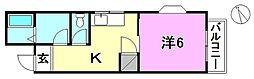 湯山コーポラス[302 号室号室]の間取り