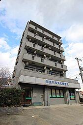 広島県広島市安佐南区伴東5丁目の賃貸マンションの外観