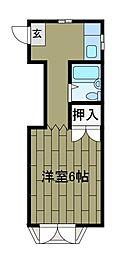 エンゼルハウス[3階]の間取り