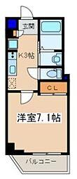 メゾン青空東戸塚[802号室]の間取り