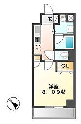シティライフ覚王山北[4階]の間取り