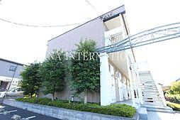 東京都三鷹市大沢2丁目の賃貸アパートの外観