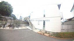 大阪府東大阪市稲葉4丁目の賃貸アパートの外観