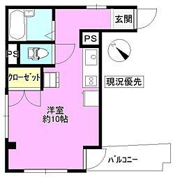 長野県長野市三輪7丁目の賃貸マンションの間取り