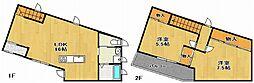 [テラスハウス] 兵庫県明石市大久保町大窪 の賃貸【/】の間取り
