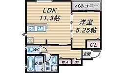 (仮称)曽根東町2丁目マンション[103号室]の間取り