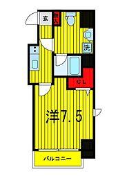 プレール・ドゥーク浅草橋[8階]の間取り