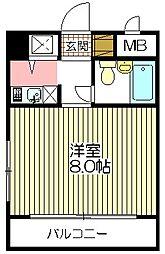 アイランドマンション[701号室]の間取り