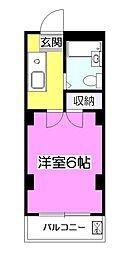 NJコーポ[3階]の間取り