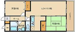 NAGARE(ナガレ)35[604号室]の間取り