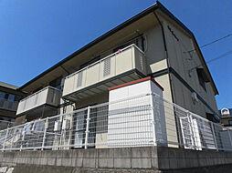 広島県広島市安佐南区高取北1丁目の賃貸アパートの外観