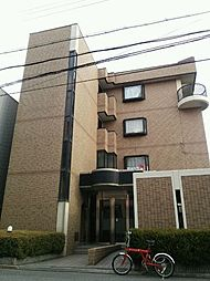 大阪府東大阪市箕輪2丁目の賃貸マンションの外観