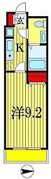 ジュモー京成船橋[6階]の間取り