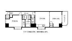 富士見町多川ビル--[901号室]の間取り