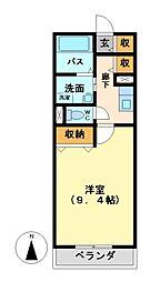 メゾン・ド・K&B[1階]の間取り