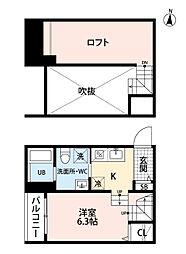 Avanti今宿(アバンティ)[1階]の間取り