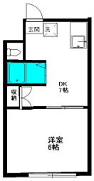 ブラウンハウス[2C号室]の外観
