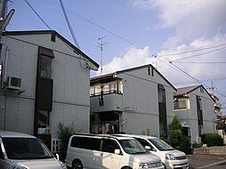 京都府京都市西京区上桂宮ノ後町の賃貸アパートの外観
