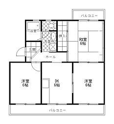 エミネンス渋谷[3階]の間取り