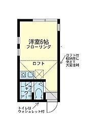 メメント・ モリ桜木町[1階]の間取り