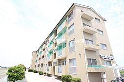 岡山県岡山市東区君津の賃貸マンションの外観