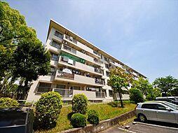 粟生第二住宅38棟[5階]の外観