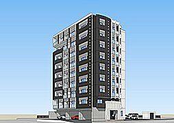 福岡県北九州市戸畑区新池3の賃貸マンションの外観
