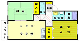 プチファミーユ[2階]の間取り