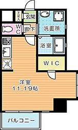 Studie KOKURA(スタディ小倉)[4階]の間取り