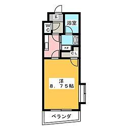 ハーモニー星崎[3階]の間取り