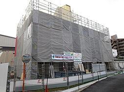 大阪府八尾市本町5丁目の賃貸アパートの外観