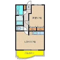 ロイヤル ガーデン[2階]の間取り