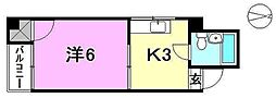 第4杉フラット[103 号室号室]の間取り