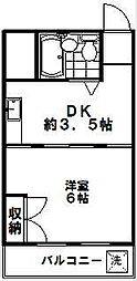 DRホームズ駒沢大学[102号室]の間取り