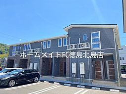 JR徳島線 鮎喰駅 徒歩6分の賃貸アパート