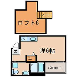 Ange神戸[2階]の間取り