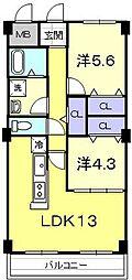 アピチェ[2階]の間取り