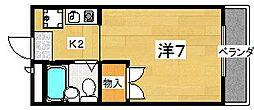 T&Iマンション[3階]の間取り