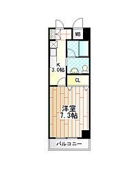 グリーン・ベル柿生[3階]の間取り